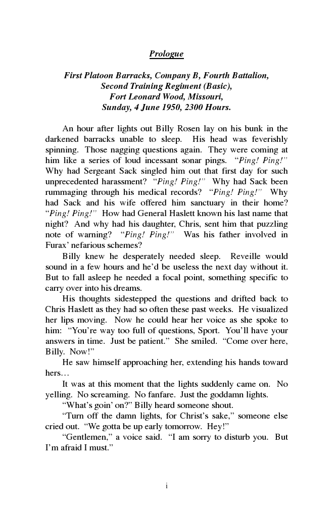 Image of the first Prologue page